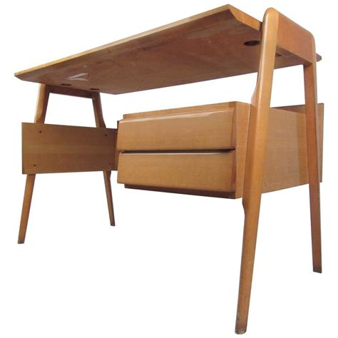 Mid Century Modern Desks For Sale Exquisite Mid Century Modern Italian Floating Desk For Sale At 1stdibs