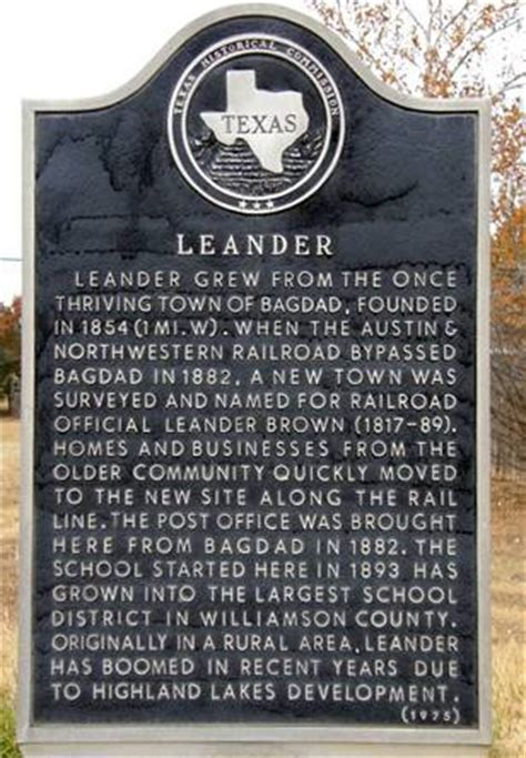 Leander Post Office by Leander