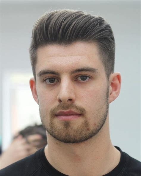 Hairstyles For Oval by Mens Hairstyles Oval Fade Haircut