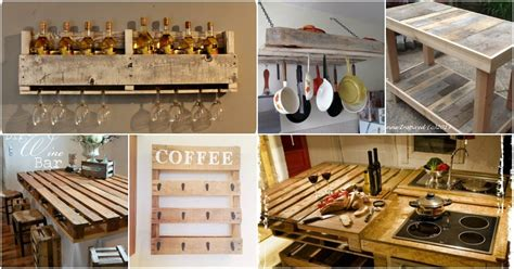Pallet Furniture Diy Projects Craft Ideas How To S For 10 Brilliantly Rustic Diy Pallet Kitchen Furniture Ideas Diy Crafts