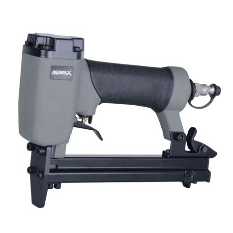 upholstery air stapler numax pneumatic 22 gauge 3 8 in crown upholstery stapler