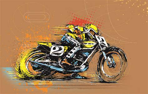 design art racing tim beaumont designs retro bike racing art motorsport retro