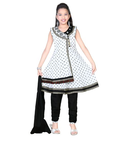 To Trendy White trendy white cotton salwar suit buy trendy