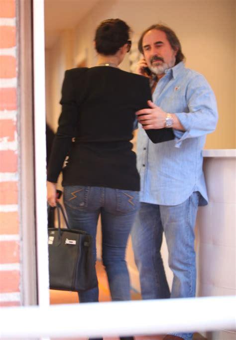 kim bellamy hair stylist kim kardashian arriving at piny hair salon zimbio