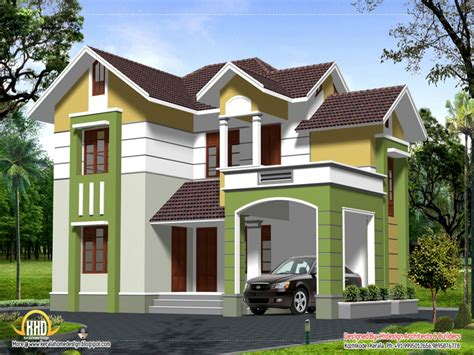 Simple Two Story House 2 Story Home Design Styles Contemporary 2 Story House Plans