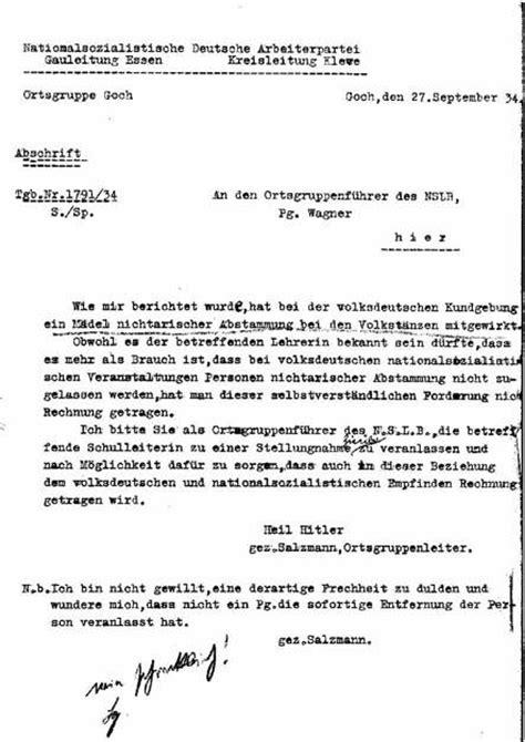 Beschwerdebrief Forderung Ellenhoffmann Auftrittsverbot