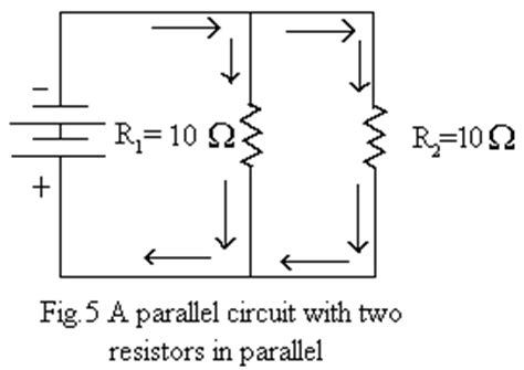 2 resistors in parallel wattage elementary theory of electricity magnetism