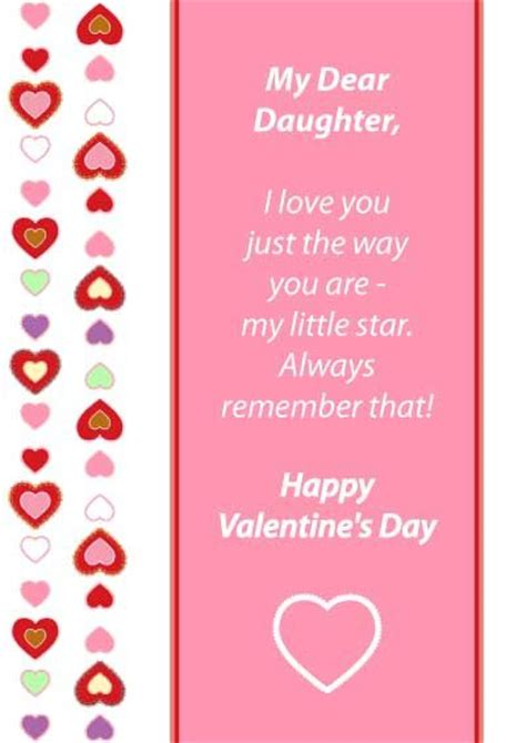 valentines for daughters the world s catalog of ideas