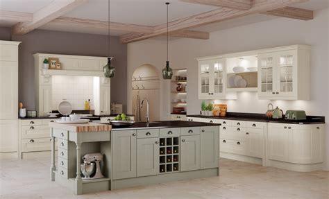 sage and cream shaker style kitchen kitchen decorating housetohome co uk wakefield classic wk direct kitchens
