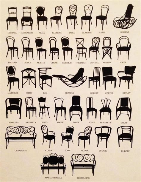 1000 Images About Thonet Bentwood Chairs On Pinterest Types Of Dining Chairs
