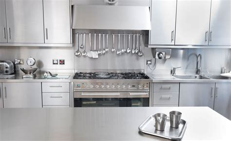 Stainless Kitchen Cabinets by Stainless Steel Kitchen Home Design