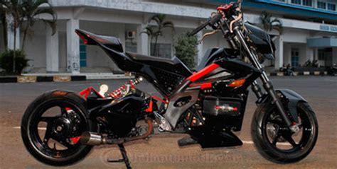 Sokbreker Depan Motor Beat Herdiansyah Yamaha Mio Modif Fighter