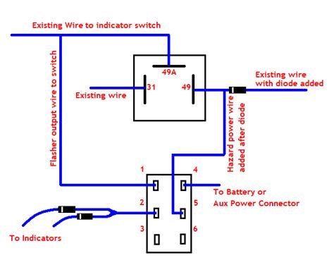 flasher relay wiring diagram images