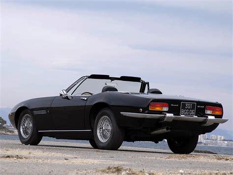 1969 Maserati Ghibli by Maserati Ghibli Spyder 1969 73