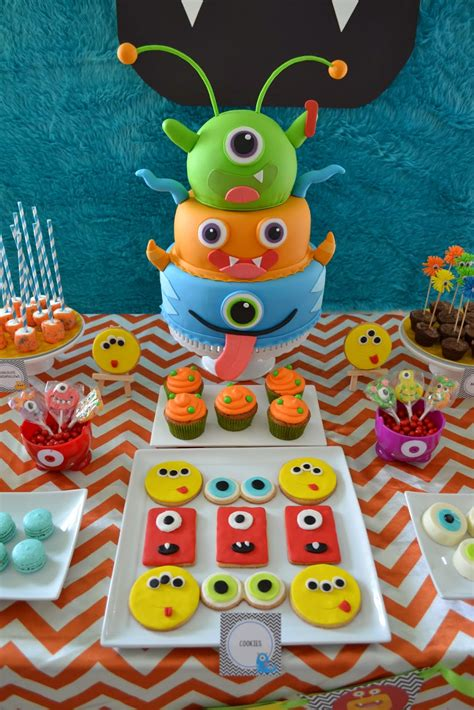 little decorations partylicious little monster birthday bash