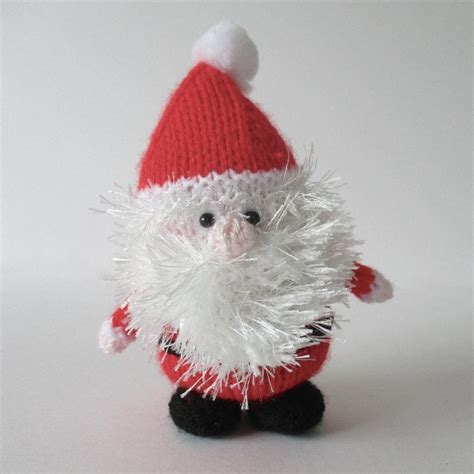 father christmas knitting pattern by amanda berry