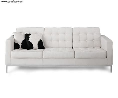 White Leather Loveseats finding the lowest price for white leather couches s3net
