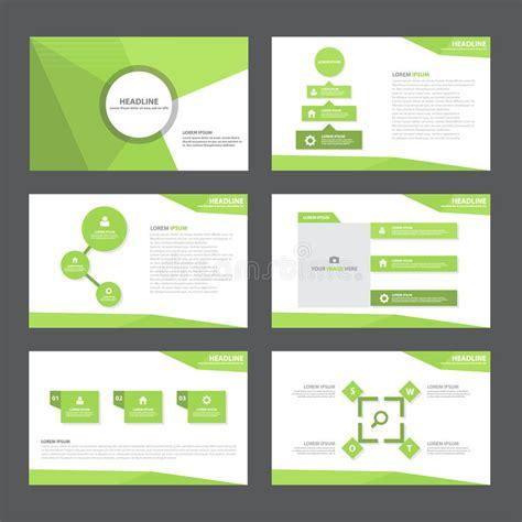 green presentation template green abstract polygon presentation template infographic