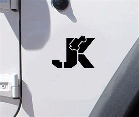 jeep jk sticker jeep jk fender vinyl decal stickers pair a3