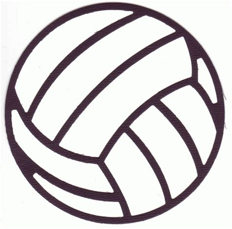 printable volleyball pattern free volleyball clip art pictures clipartix
