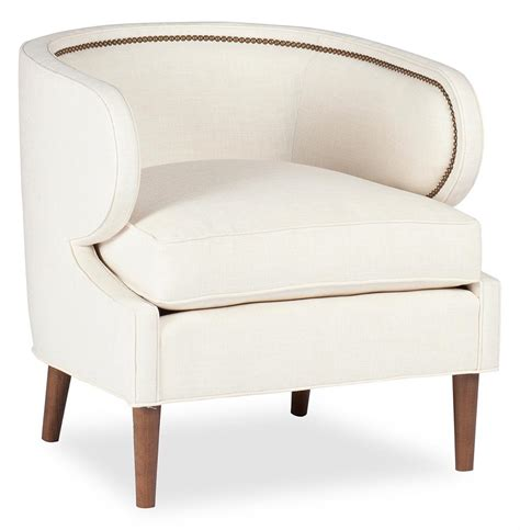 linen chair regency deco ivory linen arm chair