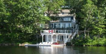 12 waterfront cottages in ontario you can rent with your