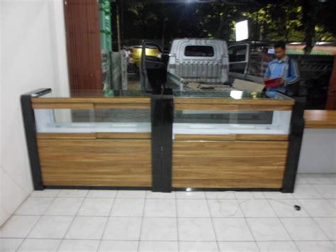 Meja Etalase Hp etalase display roti dengan pemanas etalase display