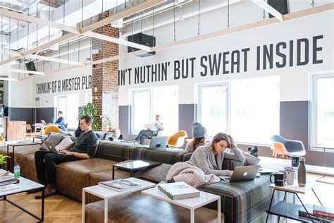 We Office by A Look Inside Wework S Williamsburg Coworking Space