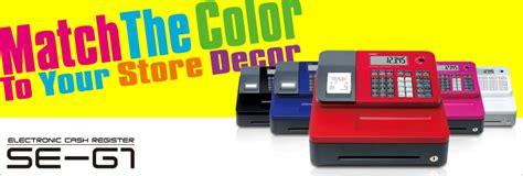 Original Jual Mesin Kasir Register Casio Se G1 Seg1 Se G1 Jual Casio Register Se G1 Black Murah Bhinneka