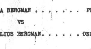 Divorce Records Ireland Bergman 187 Climbing My Family Tree