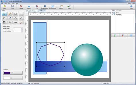 web design visual editor first look drawpad graphics editor