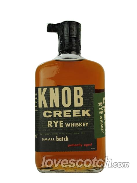 knob creek rye whiskey buy lovescotch