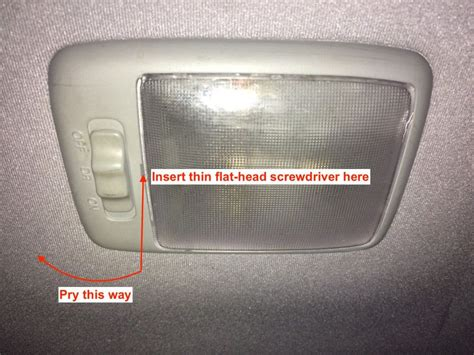 replacement dome light cover 1999 2005 hyundai accent dome light will not turn on