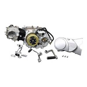 50cc 4 stroke engine with manual clutch kick start for
