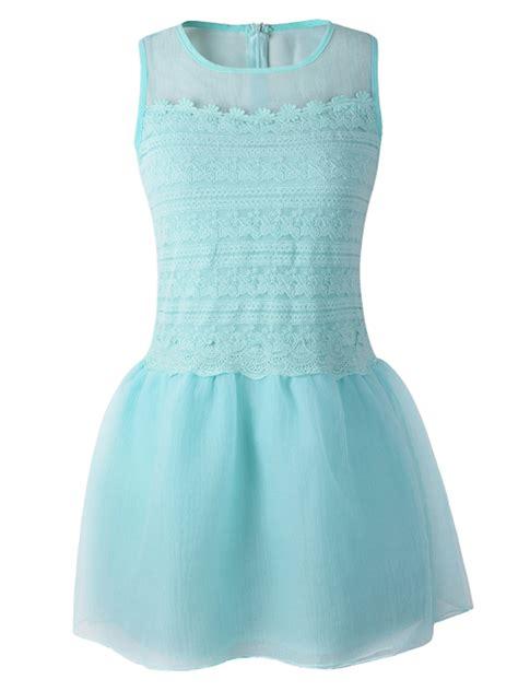 light blue organza sensual wine red long sleeve skater mini dress special