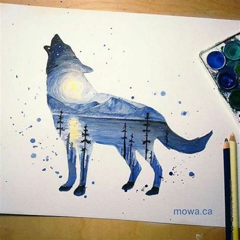 watercolor wolf tutorial 17 best images about high school art 1 drawing on