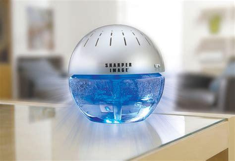 lighted water air purifier  freshener  sharper image