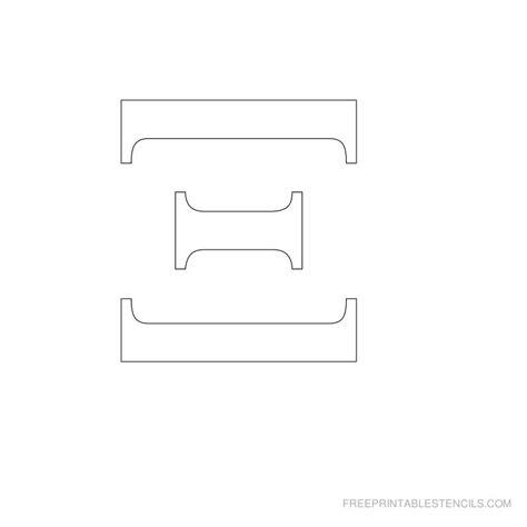 printable greek letters printable greek letter alphabet stencils free printable
