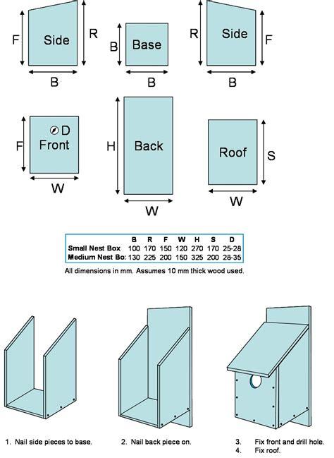 nesting box for wood pecker birds nest box design help