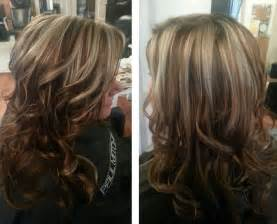 all color vs highlights the color caramel sand blond highlights and