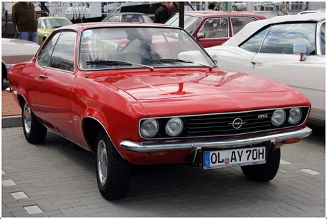 Opel Manta A by Opel Manta A Bj 1970 Oldtimer Treffen Bremerhaven Am 13