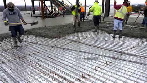 How To Build Pour Concrete truck pouring concrete slab