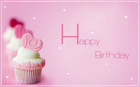 Happy Birthday Pink Color Desktop Wallpapers   HD Famous Wallpapers