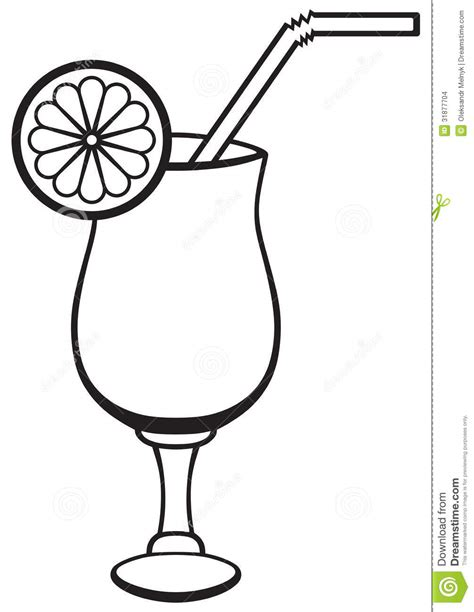 mixed drink clipart black and white cocktail clipart outline pencil and in color cocktail