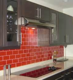 superior Red Glass Tile Kitchen Backsplash #3: kitchen-awesome-red-subway-tile-kitchen-backsplash-with-taupe-kitchen-cabinet-and-custom-white-countertop-design-ideas-red-glass-tile-kitchen-backsplash-kitchen-design-vibrant-backsplash.jpg