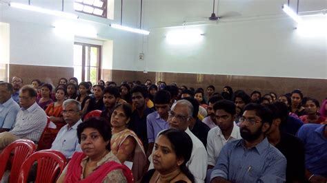 Uc College Aluva Mba by Blessing Of Bt Sp Renovated Block Uc College Aluva