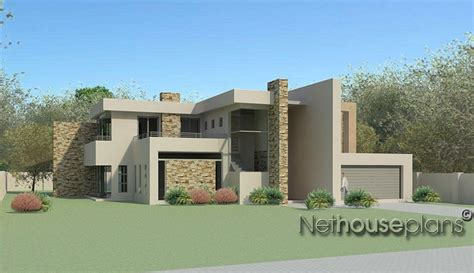 modern house designs floor plans south africa 4 bedroom modern style house plan net house plans south