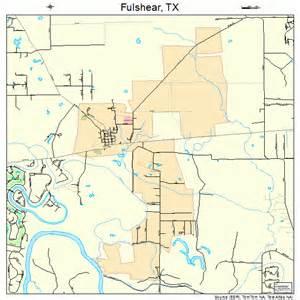 map of fulshear fulshear map 4827876