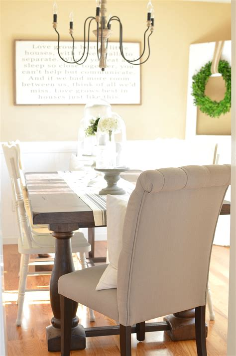 modern farmhouse dining room modern farmhouse dining room makeover little vintage nest
