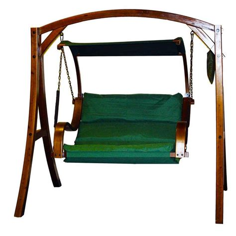 hammock swing seat beautiful arc premier 2 seat garden swing hammock green